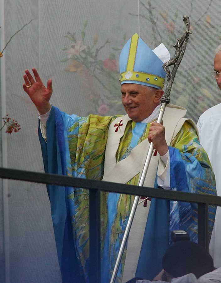 Messgewand Papst Benedikt XVI 4