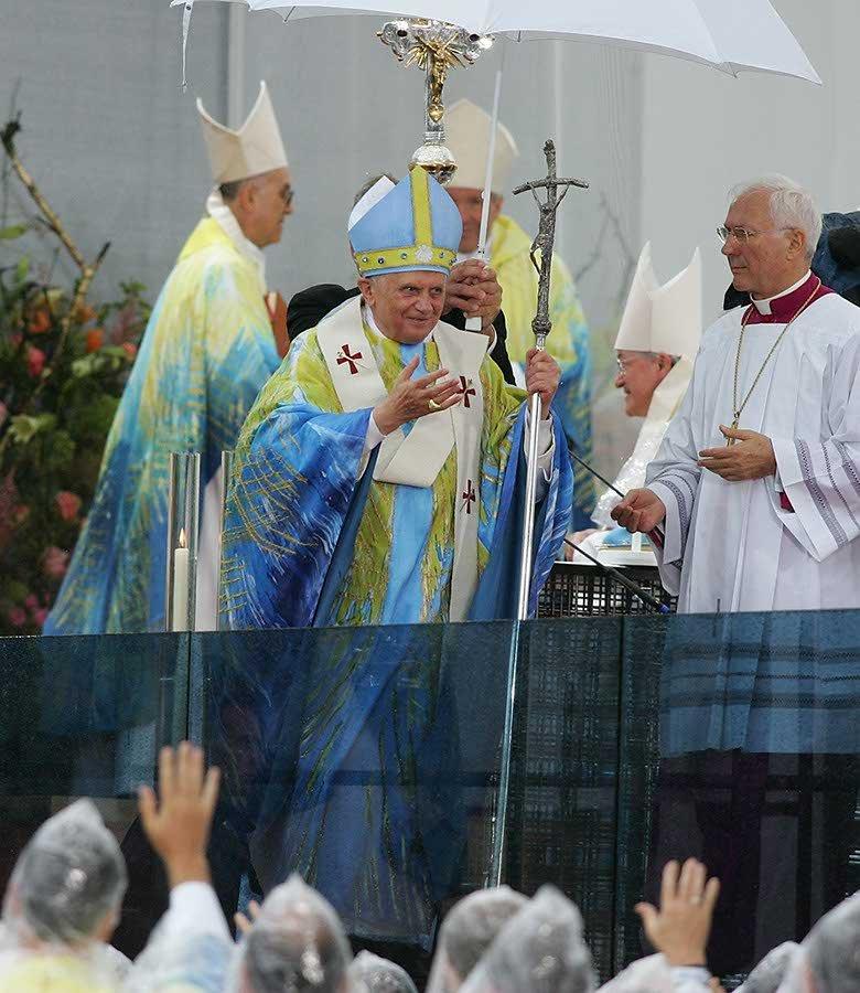 Messgewand Papst Benedikt XVI 5